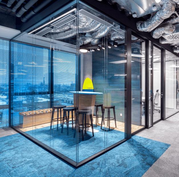 Systemy ścian szklanych bezklasowych